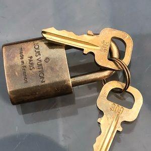 Louis Vuitton Lock and Keys